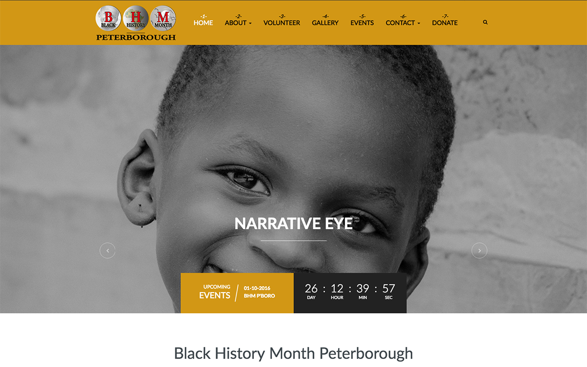 Black History Month Peterborough